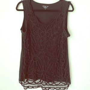 Women's Coldwater Creek Lace Embroidered Cotton
